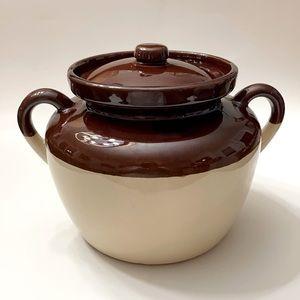 Vintage McCoy Bean Pot # 343